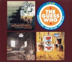 "3CD-box Guess Who ""3 original albums"" 1969-70 England"