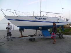 Продам парусную яхту. Длина 8,20м., Год: 1989 год