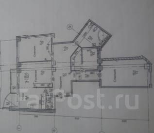 3-комнатная, улица Некрасовская 90. Некрасовская, частное лицо, 135 кв.м.