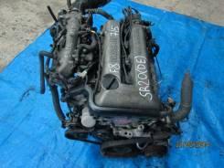 Двигатель в сборе. Nissan Bluebird, HU14 Nissan Serena, PC24 Двигатели: SR20DE, SR20DET