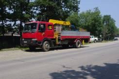 Kia Granto. Бортовой грузовик с крановой установкой, 9 400 куб. см., 10 000 кг.