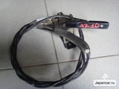 Тросик лючка топливного бака. Nissan Cube, AZ10 Двигатель CGA3DE