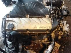 Двигатель Mitsubishi 4G69 2.4 с навесным в сборе
