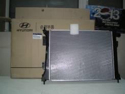 Радиатор охлаждения двигателя. Hyundai Accent Hyundai Solaris Hyundai i20 Hyundai Veloster Kia Rio