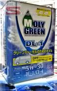 Moly Green. Вязкость 5w30, полусинтетическое