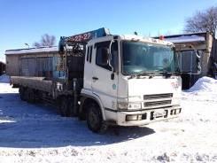 Mitsubishi Fuso. Бортовой грузовик с краном Mitsubishi FUSO, 16 031куб. см., 10 000кг., 4x2