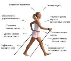 Палки для ходьбы.