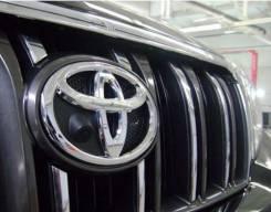 Эмблема. Toyota: Camry, Corolla, Land Cruiser Prado, Highlander, Avensis, RAV4, Auris, Land Cruiser, Prius