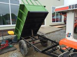 Кузова. Прицеп с самосвальным кузовом для минитрактора., 1 500 кг.