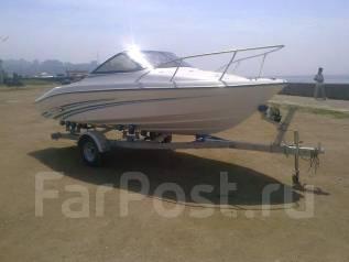 Продается моторная лодка Gayar 180. Год: 2017 год, длина 5,50м., двигатель подвесной
