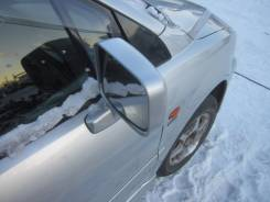 Зеркало заднего вида боковое. Mitsubishi Chariot Grandis, N84W Двигатель 4G64