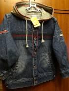 Куртки джинсовые. Рост: 98-104, 104-110, 110-116 см