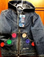 Куртки джинсовые. Рост: 86-98, 98-104, 104-110 см