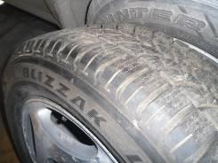 Шина Bridgestone Blizzak LM-18 225х60х16 б/у с диском. 7.0x16 5x114.30 ET45 ЦО 60,1мм.