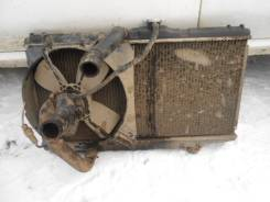 Радиатор охлаждения двигателя. Toyota Corolla, EE98 Toyota Corona Двигатель 3E