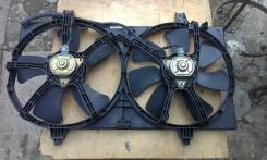 Вентилятор охлаждения радиатора. Nissan Wingroad, WFY11 Двигатель QG15DE