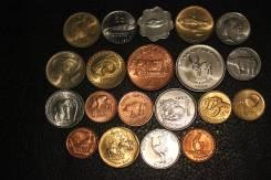 Набор монет 20 шт., фауна 20-ти разных стран мира.