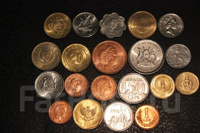 Наборы монет разных стран рубль 1732