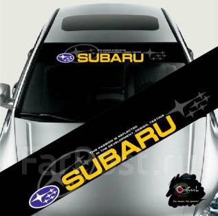 Дефлектор лобового стекла. Subaru Stella