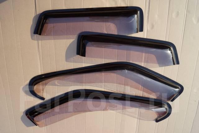 Ветровики (дефлекторы боковых окон) Nissan TERRANO