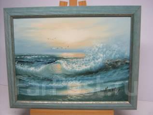 Картина маслом Германия Море-чайки. Оригинал