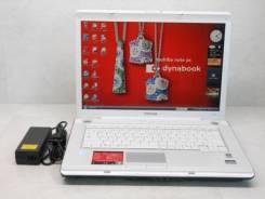 """Toshiba Dynabook. 15.4"""", 1,9ГГц, ОЗУ 2048 Мб, диск 80 Гб, WiFi, аккумулятор на 1 ч."""