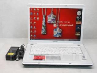 Toshiba Dynabook. 15.4дюймов (39см), 1,9ГГц, ОЗУ 2048 Мб, диск 80Гб, WiFi, аккумулятор на 1ч.