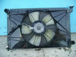 Радиатор охлаждения двигателя. Toyota Wish Двигатель 1ZZFE