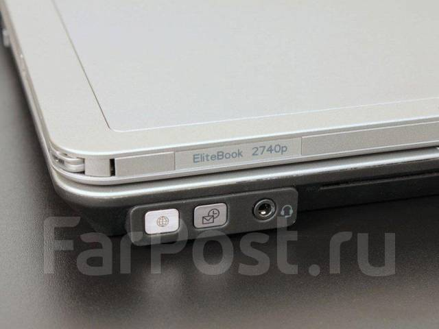 "HP EliteBook 2740p. 12"", 2,7ГГц, ОЗУ 4 Гб, диск 160Гб, WiFi, Bluetooth, аккумулятор на 5ч."