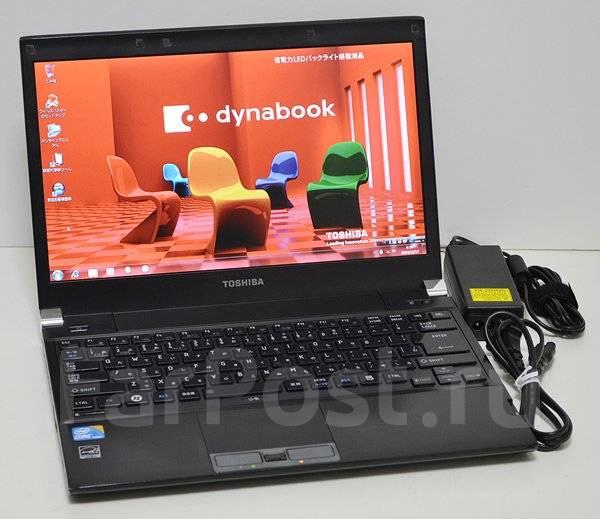 Toshiba Dynabook SS. 13.3дюймов (34см), 2,4ГГц, ОЗУ 2048 Мб, диск 160 Гб, WiFi, аккумулятор на 6 ч.