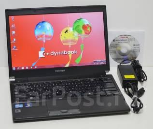"""Toshiba Dynabook. 13.3"""", 2,5ГГц, ОЗУ 4096 Мб, диск 250Гб, WiFi, аккумулятор на 6ч."""