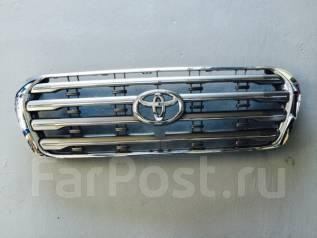 Решетка радиатора. Toyota Land Cruiser, VDJ200, UZJ200W, URJ202W, UZJ200, J200, 200 Двигатели: 1VDFTV, 2UZFE, 1URFE, 3URFE