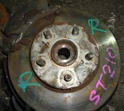 Диск тормозной. Toyota Caldina, AT211 Двигатель 7AFE
