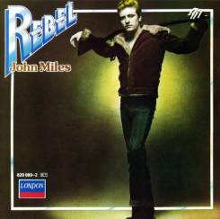 "CD John Miles ""Rebel"" 1976 Germany"