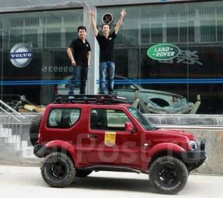 Багажник на крышу. Suzuki Jimny, JB43, JB23W Двигатели: M13A, K6A. Под заказ