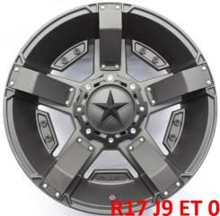 XD Series. 9.0x17, 5x139.70, 5x150.00, ET0, ЦО 110,0мм.