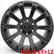Black Rhino Sidewinder. 9.0x18, 6x139.70, ET12, ЦО 108,0мм.