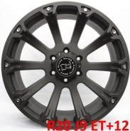 Black Rhino Sidewinder. 9.0x20, 6x139.70, ET12, ЦО 110,0мм.