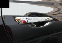 Накладка на ручки дверей. Lexus RX270 Lexus RX350 Lexus RX450h. Под заказ