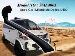 Шноркель. Mitsubishi Delica, PA4W, PD8W, PE6W, PC5W, PC4W, PF6W, P35W, PB5W, PA5W, P25W, PE8W, PD6W, PF8W, PB4W Двигатели: 4D56, 4M40, 4G64, 6G72, 6G6...