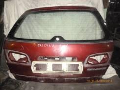 Дверь багажника. Toyota Caldina, AT211G Двигатель 7AFE