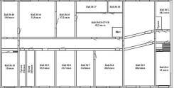 Офисные помещения. 150 кв.м., улица Адмирала Юмашева 12б, р-н Баляева. План помещения