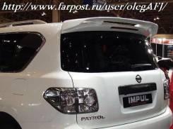 Спойлер. Nissan Patrol, Y62 Двигатель VK56VD