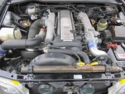 Двигатель в сборе. Toyota Cresta Toyota Chaser Двигатель 1JZGTE