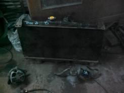 Радиатор охлаждения двигателя. Toyota Carina, 170171175 Двигатель 4A5A