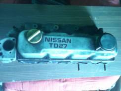 Головка блока цилиндров. Nissan Atlas, AGF22 Двигатель TD27