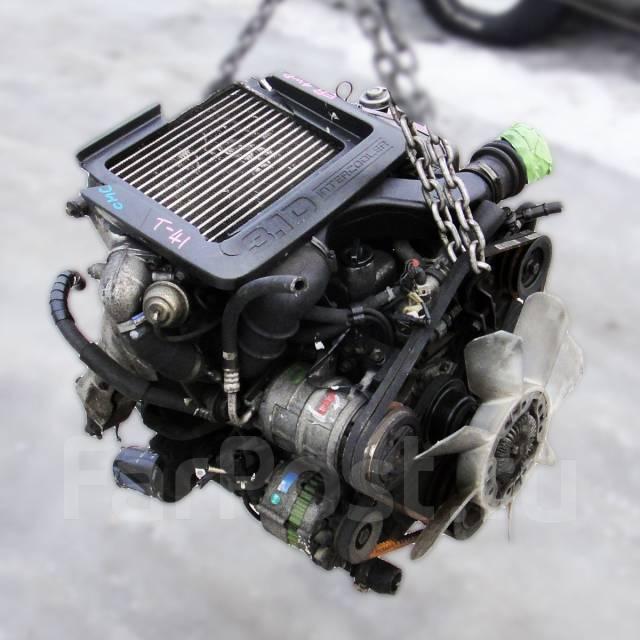 Контрактный б/у двигатель 4JG2-T на Isuzu