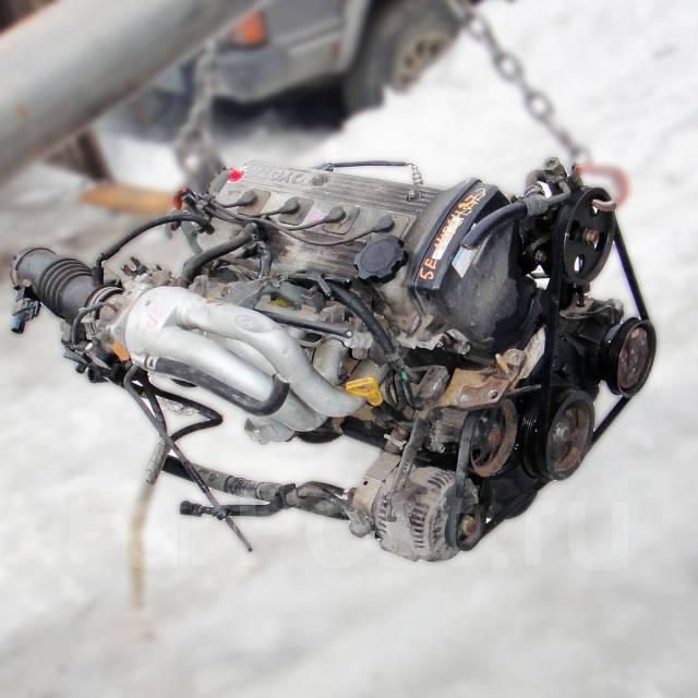 Контрактный б/у двигатель 5E-FE на Toyota