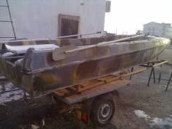 Казанка-5М. длина 4,60м., двигатель подвесной