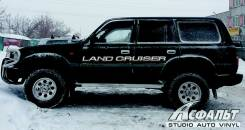 Наклейка. Toyota Land Cruiser Toyota Land Cruiser Prado